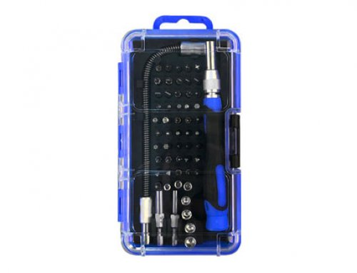 57 Piece Precision Screwdriver & Sockets Set