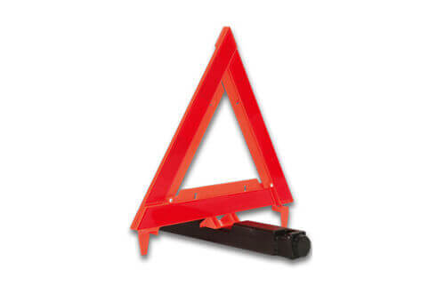 foldable warning triangle