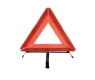 warning triangle metal stand