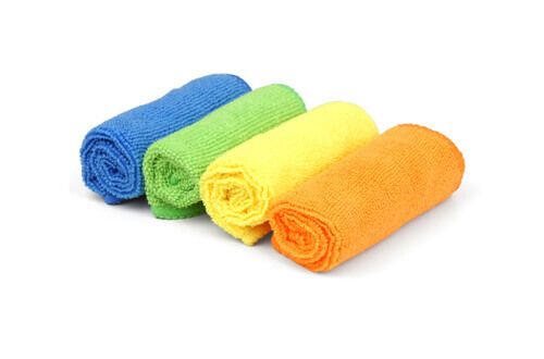 4 pack car microfiber towels MF101