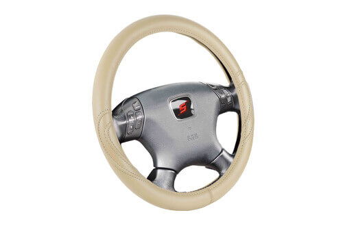 premium car steering wheel coverSWC201
