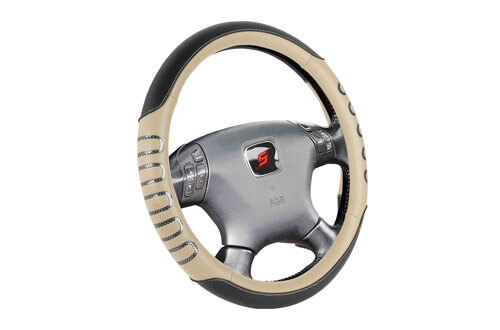 universal fit car steering wheel cover SWC204