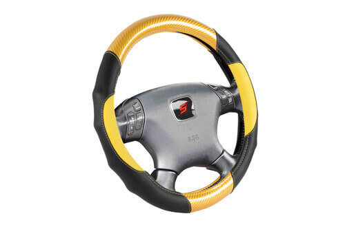 heavy duty car steering cover SWC206