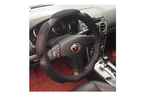 Car Steering Wheel Cover SWC210 black