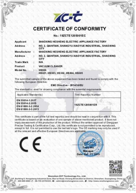 CE car vacuum cleaner manufacturer